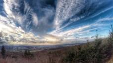 Sonne auf dem Turmberg ..