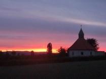 Sonnenaufgang in Sehlem