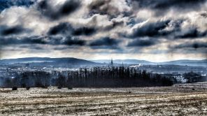 Osterberg, Blick zurück über Hildesheim