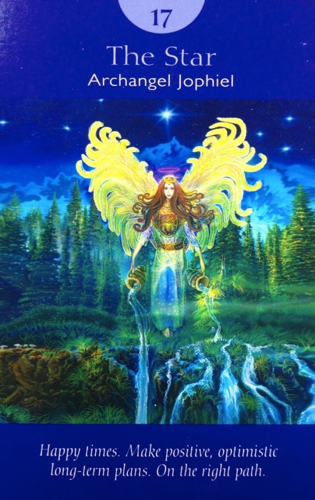 The Star from Doreen Virtue and Radleigh Valentine's Angel Tarot deck