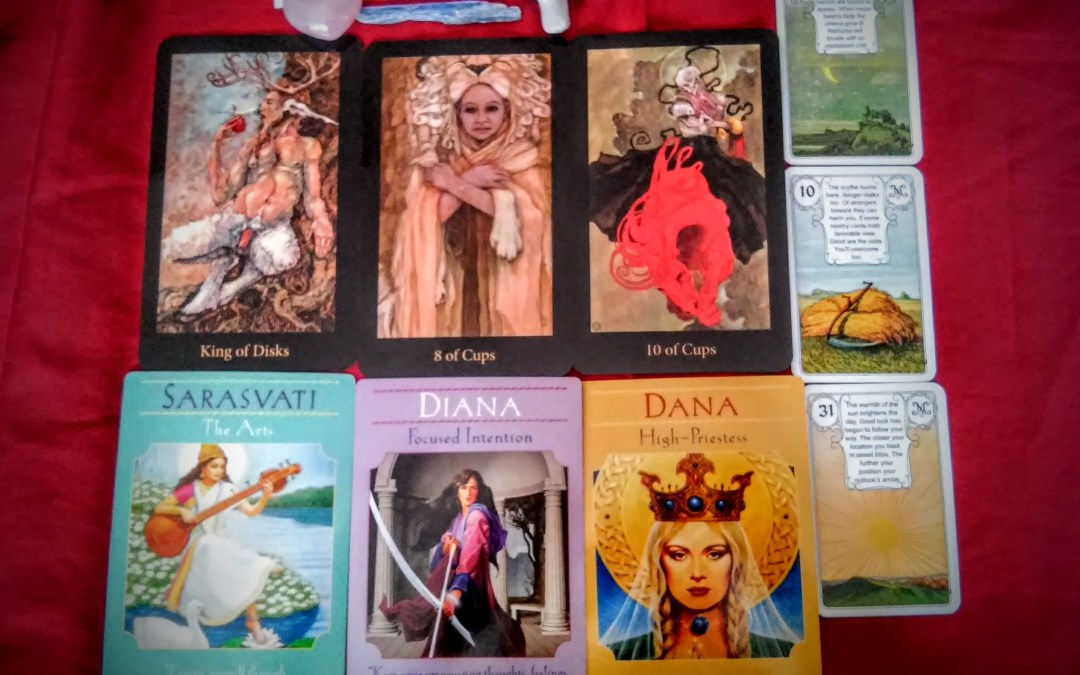 FREE Monthly Tarot Reading