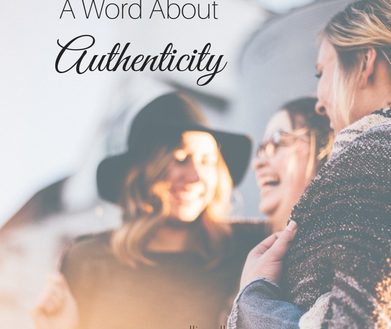 A Word About Authenticity For Spiritual Business Peeps