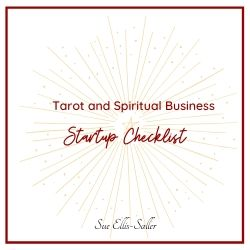 Tarot and Spiritual Business Startup Checklist