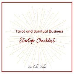 Tarot and Spiritual Business Startup Checklist