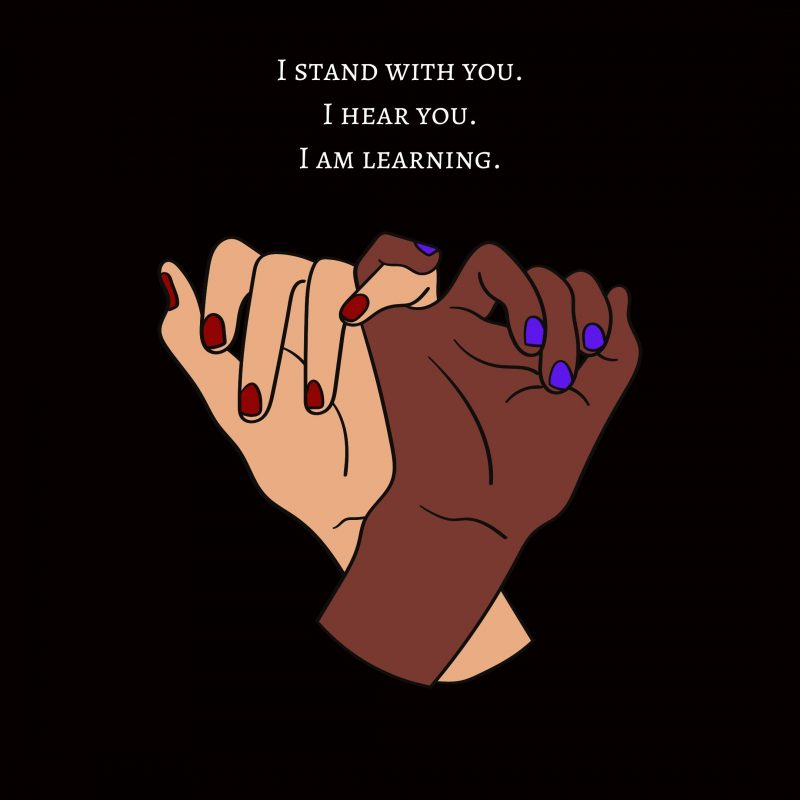I stand with BLM