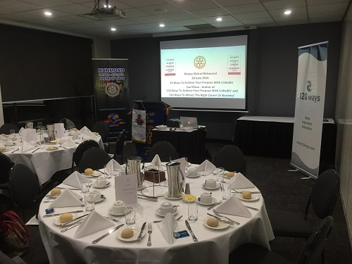 Rotary Club of Richmond 20 Ways To Achieve Your Purpose With LinkedIn with Sue Ellson
