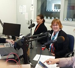 RPP FM Peninsula Radio - Link Up With LinkedIn Sue Ellson