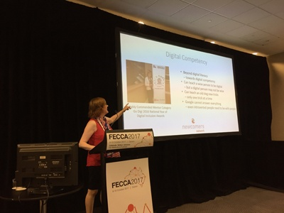 FECCA 2017 Conference Digital Competency for Careers and Business in Australia with Sue Ellson