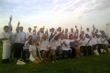 Chefs and Champagne in the Hamptons