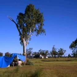 Drover's base camp, outback Queensland