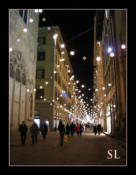 Italy Street Lights