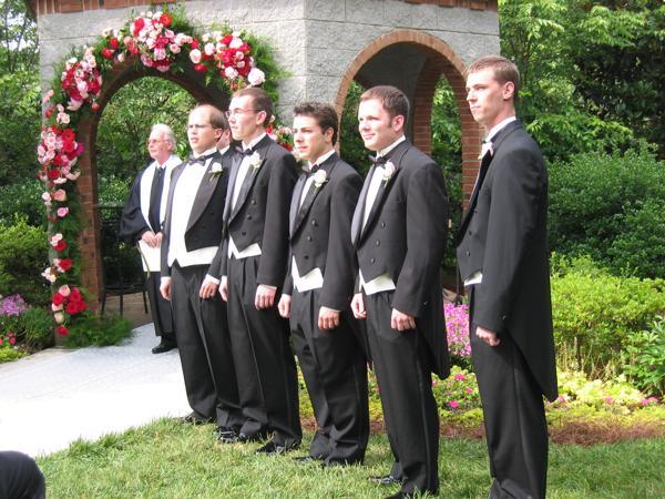 Rev. Dowen, Erich, Chad, Alex, Mark, Clay