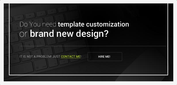 Need a customization?
