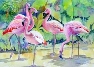 Flamingo Forest $195