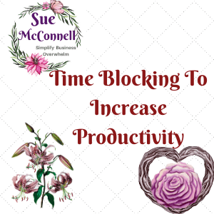 Time blocking is one way to increase your productivity to accomplish all your tasks