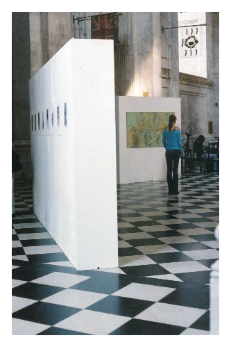 Sue's exhibition at St Pauls, August 2004