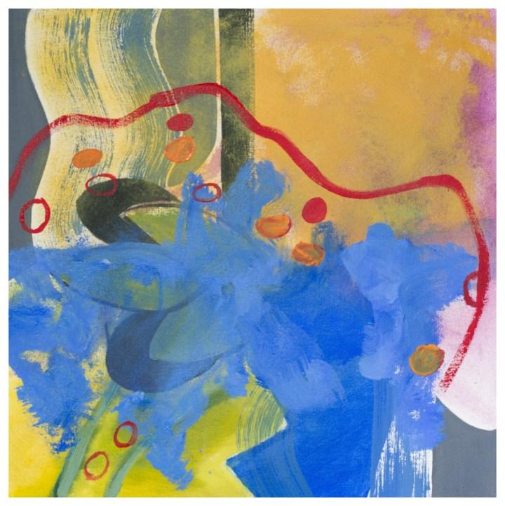 'Carpet' (50 x 50 cm, oil on canvas, 2018) £560