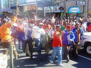 SAMWU Protestors