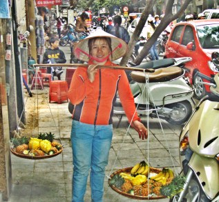 Old Market Fruit Vendor