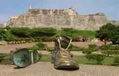 San Felipe De Barajas Castle Old Boots
