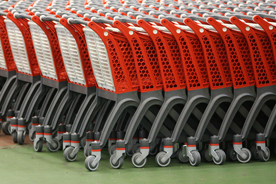 supermarket trolleys for funny drinking tale