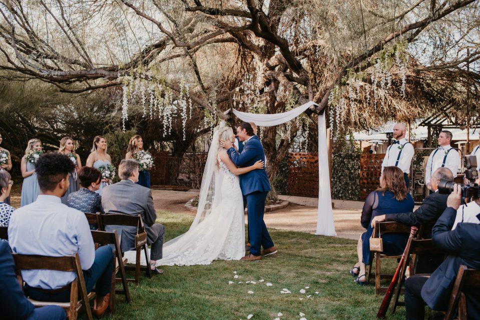 whispering-tree-ranch-bohemian-farmhouse-wedding-ceremony-suessmoments-az-photographer