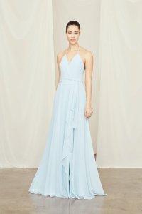 cute-engagement-photo-dresses-long-line-bella-bridesmaids-suessmoments-nyc-photographer
