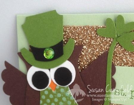 St. Patrick's Day Owl Punch Leprechaun Rainbow Treat Bag with Banner Framelits3-imp