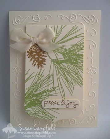 Ornamental Pines with Party Pennants Die 1-imp