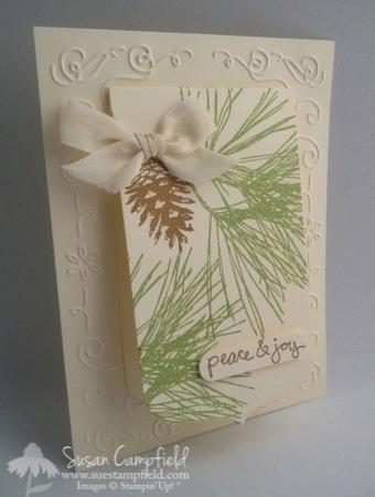 Ornamental Pines with Party Pennants Die 6-imp