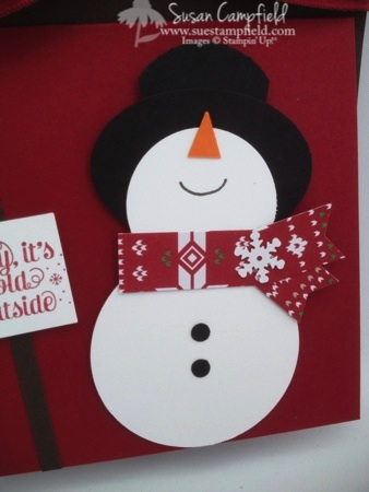 Punch Art Snowman Bottle Tag and Card5-imp