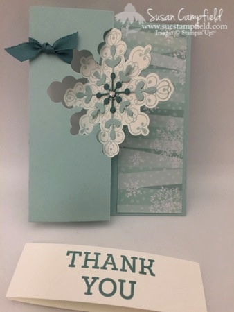 Whip-It Wednesday Snowflake Card Thinlits Dies All Is Calm Flip Card4-imp