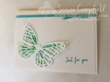 Baby Wipe Technicque Watercolor Wings - 1