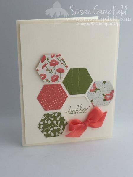 Hexagon Six Sided Sampler Pretty Petals - 2