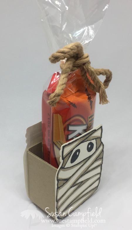 Jar of Haunts Halloween Mummy Treat Box - 5
