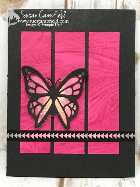Butterfly Move Me Thinlits Painted With Love Marble - 2