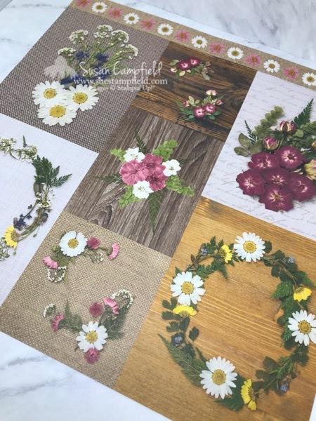 Pressed Petals Cards - 11