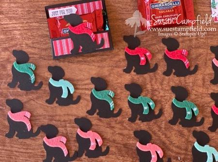 Christmas Dog Ghirardelli Treat Holder - 6