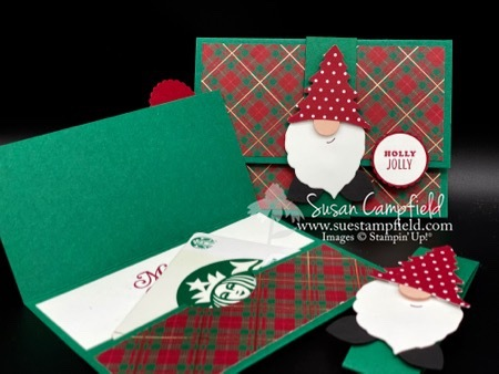 Gnome Gift Card Holder and Treat Box - 2