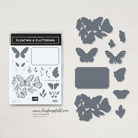 Floating & Fluttering Double Point Card - 7
