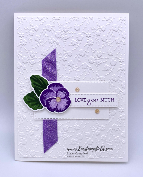 Stampin' Up! Pansy Patch Love You Much in Purple - 3 (1)
