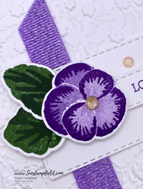 Stampin' Up! Pansy Patch Love You Much in Purple - 2 (1)