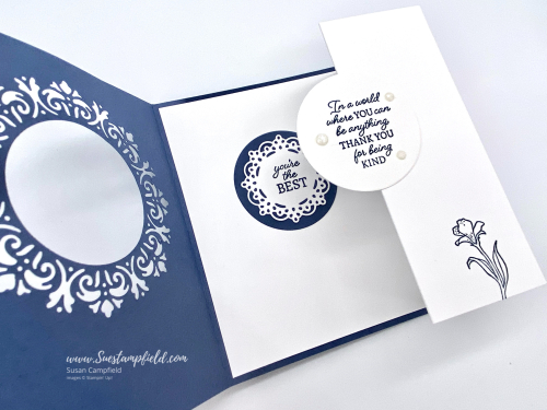 Encircled In Friendship Circle Panel Pull Out Cards - 5