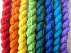 colorful yarn :)