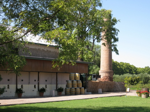 View of Lagarde winery