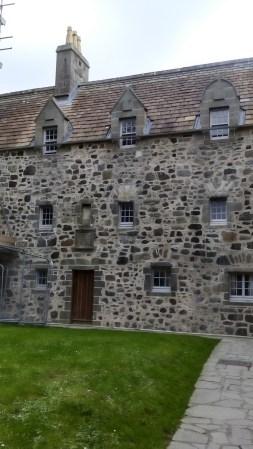 Courtyard, Duart Castle