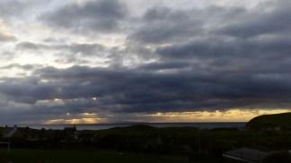 Sunset 6 November