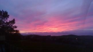 Sunset 20 November