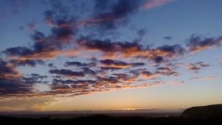 Sunset 26 February