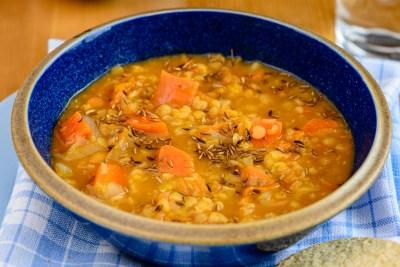 Lentil Soup for Northern Bootcamp